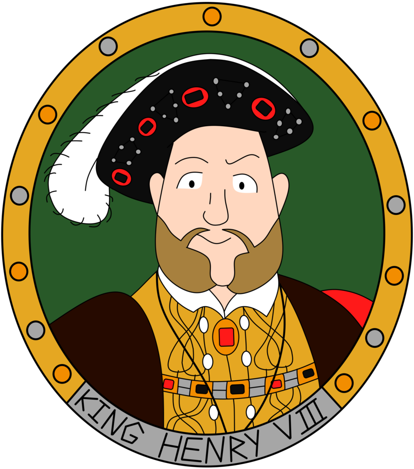 King clipart england king. Henry viii set the
