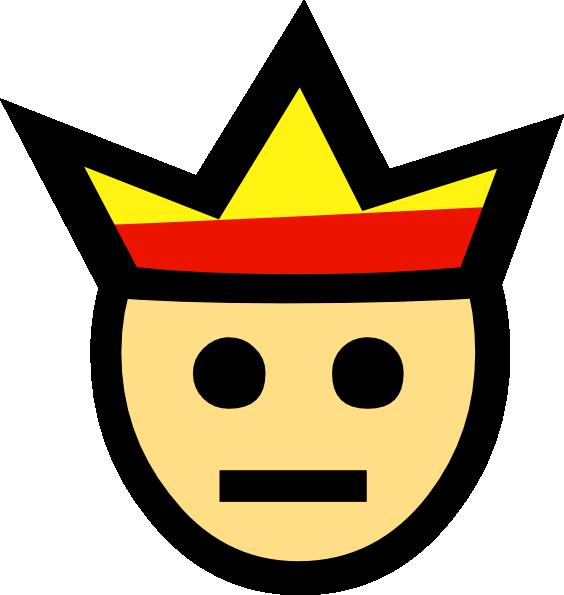 King clipart face king. Clip art at clker