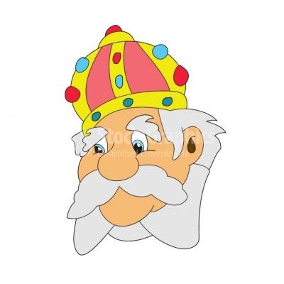 . King clipart head king