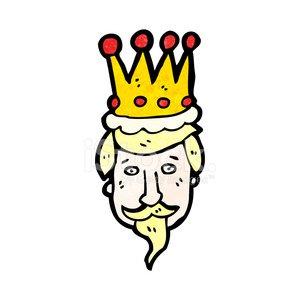 King clipart head king. Cartoon s image clip
