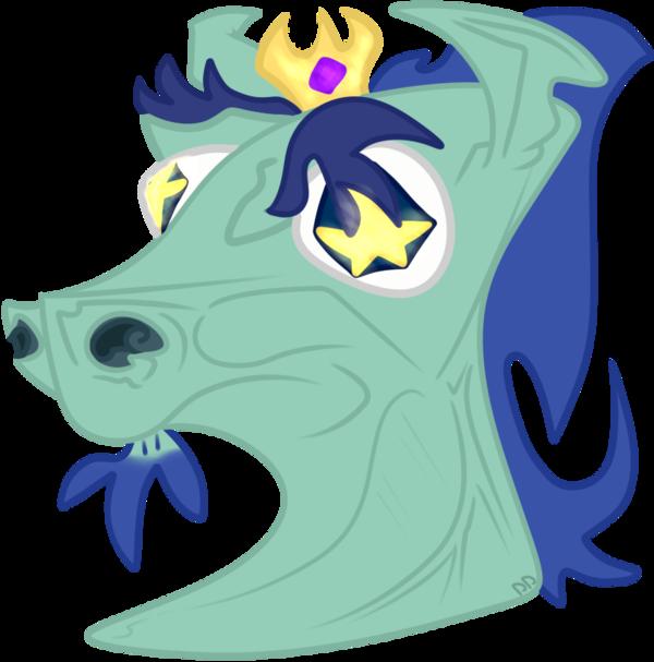 Svtfoe pony by hisscale. King clipart head king