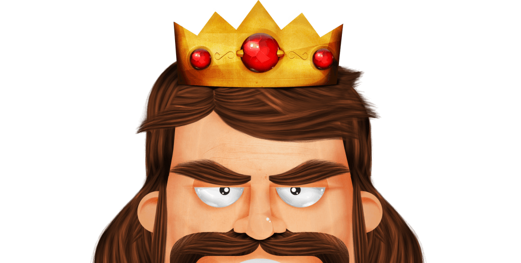 King clipart head king. Content is noteware digital