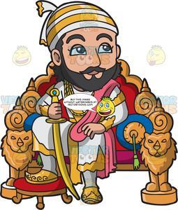 Medieval King Cartoon Clipart Vector - FriendlyStock | King cartoon,  Cartoon clip art, Medieval