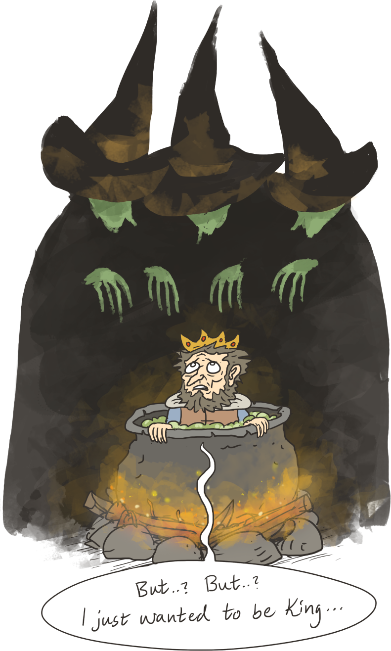 Witch clipart macbeth. Weird sisters the witches