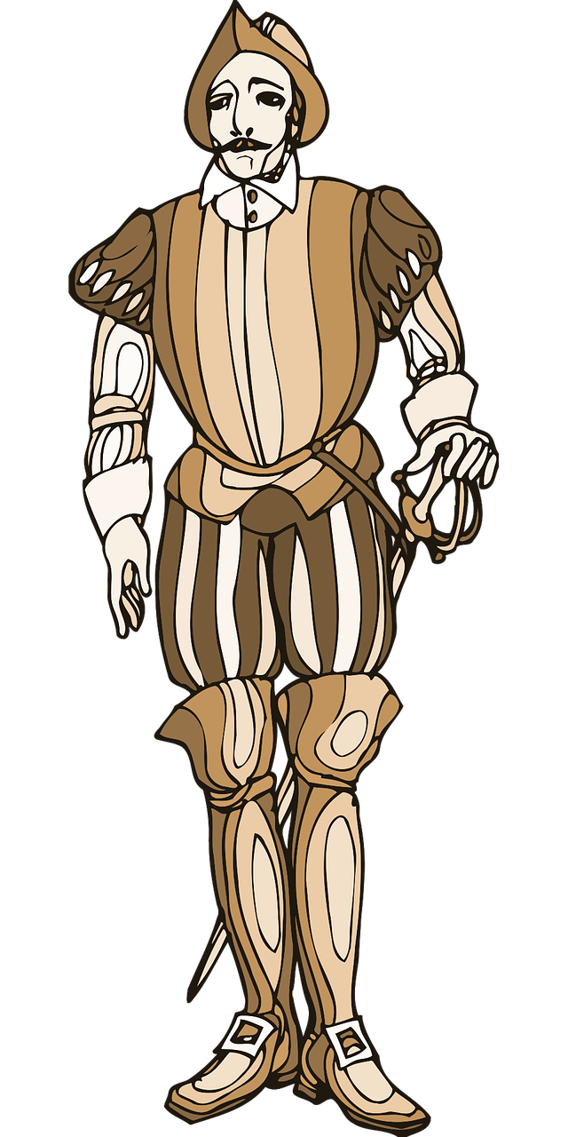 Hamlet lear soldier playwright. King clipart macbeth