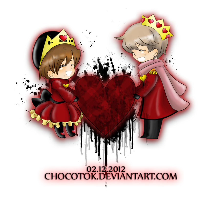 Queen clipart happy king. And of broken hearts