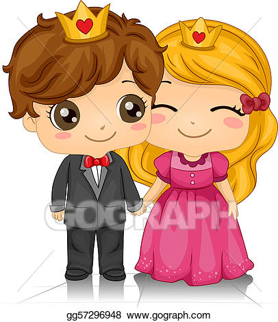 King clipart queen king heart. Stock illustrations and of