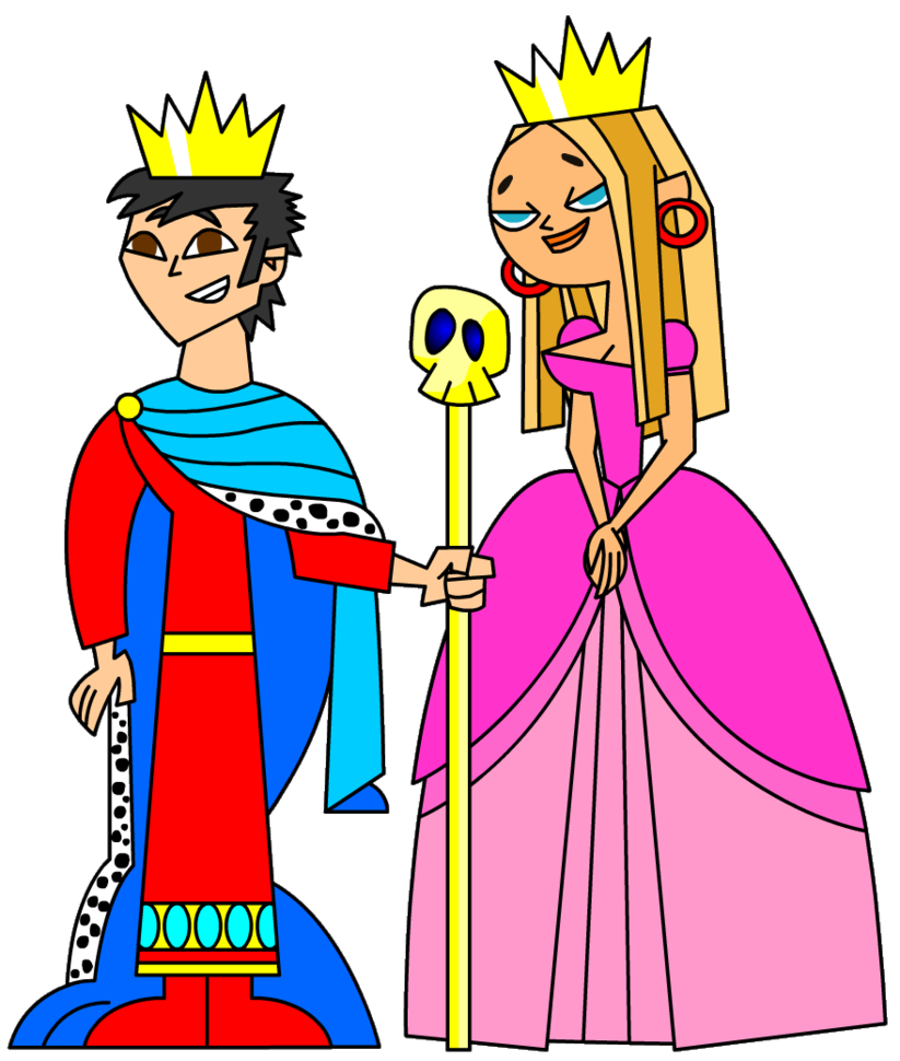 Valentine and queen clip. King clipart queenclip