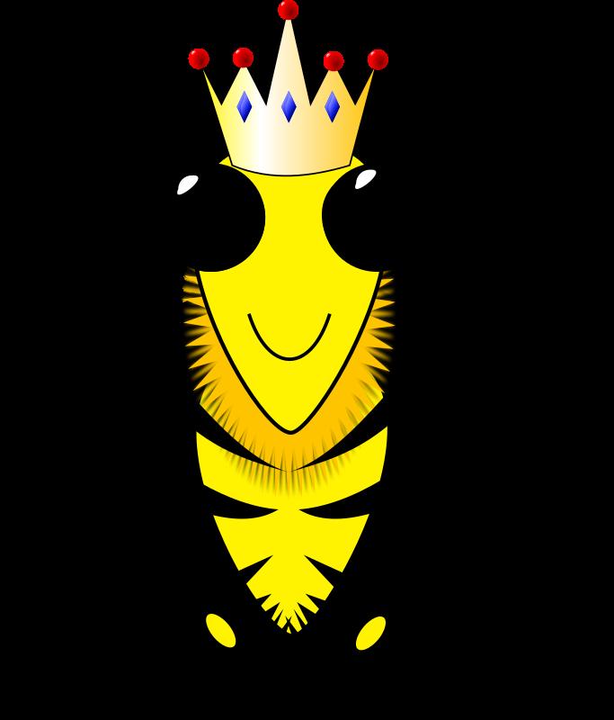 Queen bee medium image. King clipart quenn