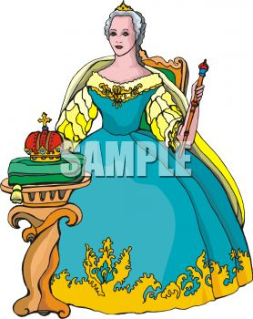 Queen clipart reyna. Transparent free for