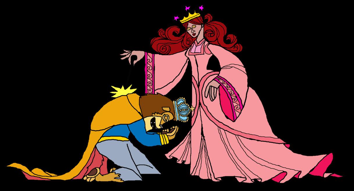 King clipart selfish. Punishing the by kingleonlionheart