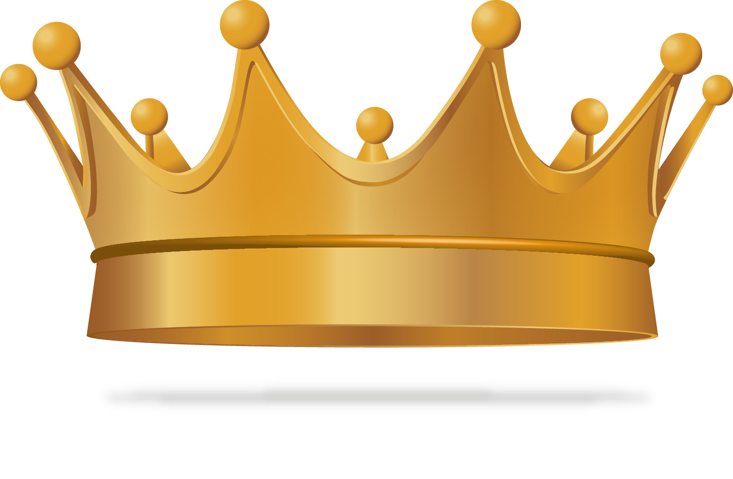 Euclidean exquisite transprent free. King crown vector png