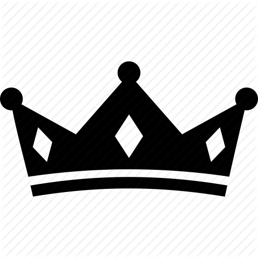 King crown vector png.  red flower for