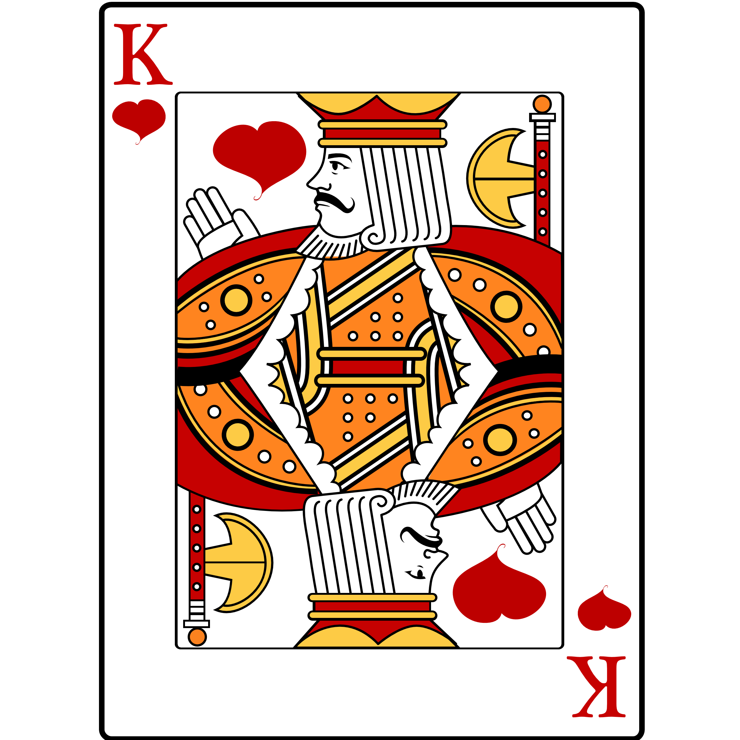Image . King of hearts png