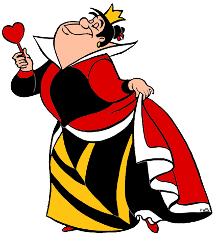 Queen clipart hearts. King and of clip