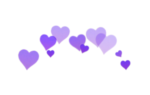 Hearts overlays . Tumblr png images