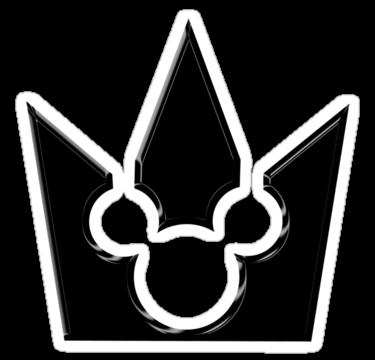 Mickey sticker pinterest. Kingdom hearts crown png