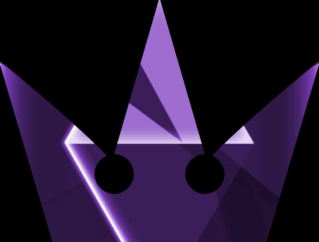 Phantom symbol violet by. Kingdom hearts crown png