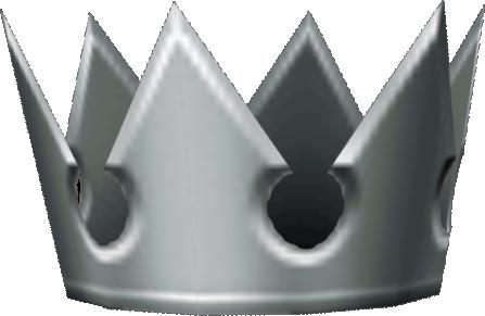 Kingdom hearts crown png. Image silver khiifm disney