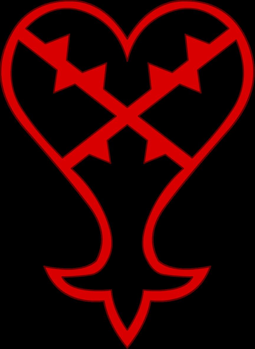 Kingdom hearts heart png. Image heartless emblem wiki