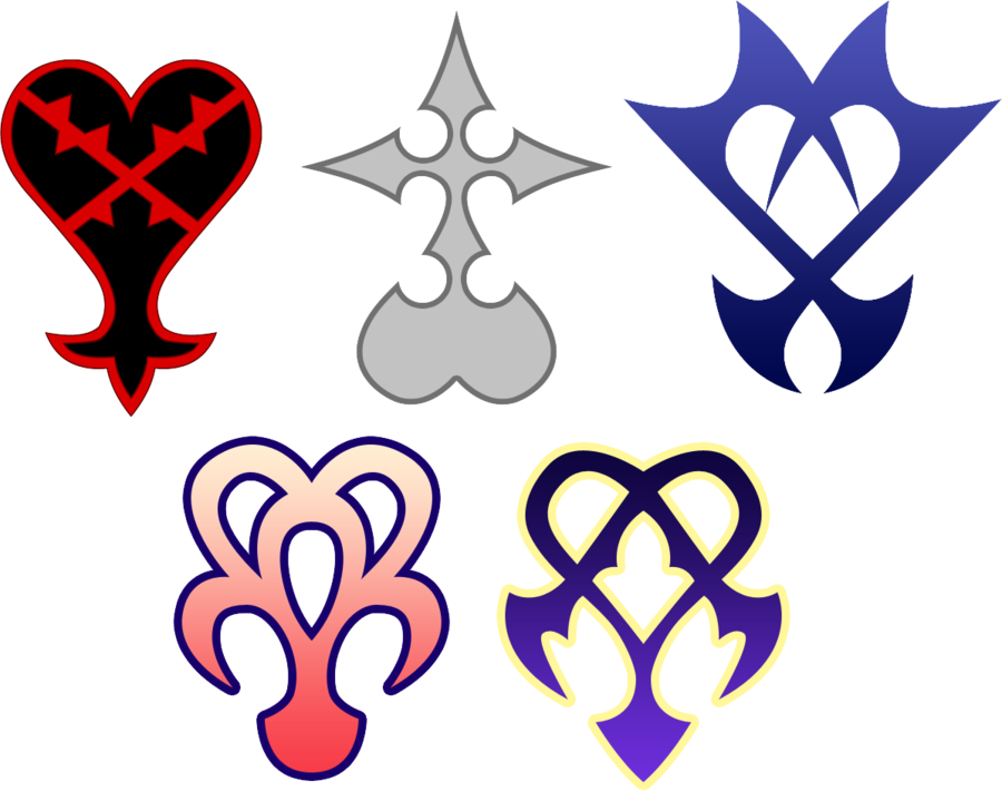 The known creatures of. Kingdom hearts heart png