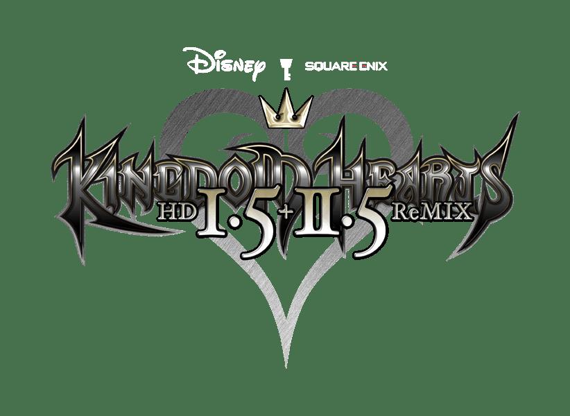 Kingdom hearts logo png. Hd remix