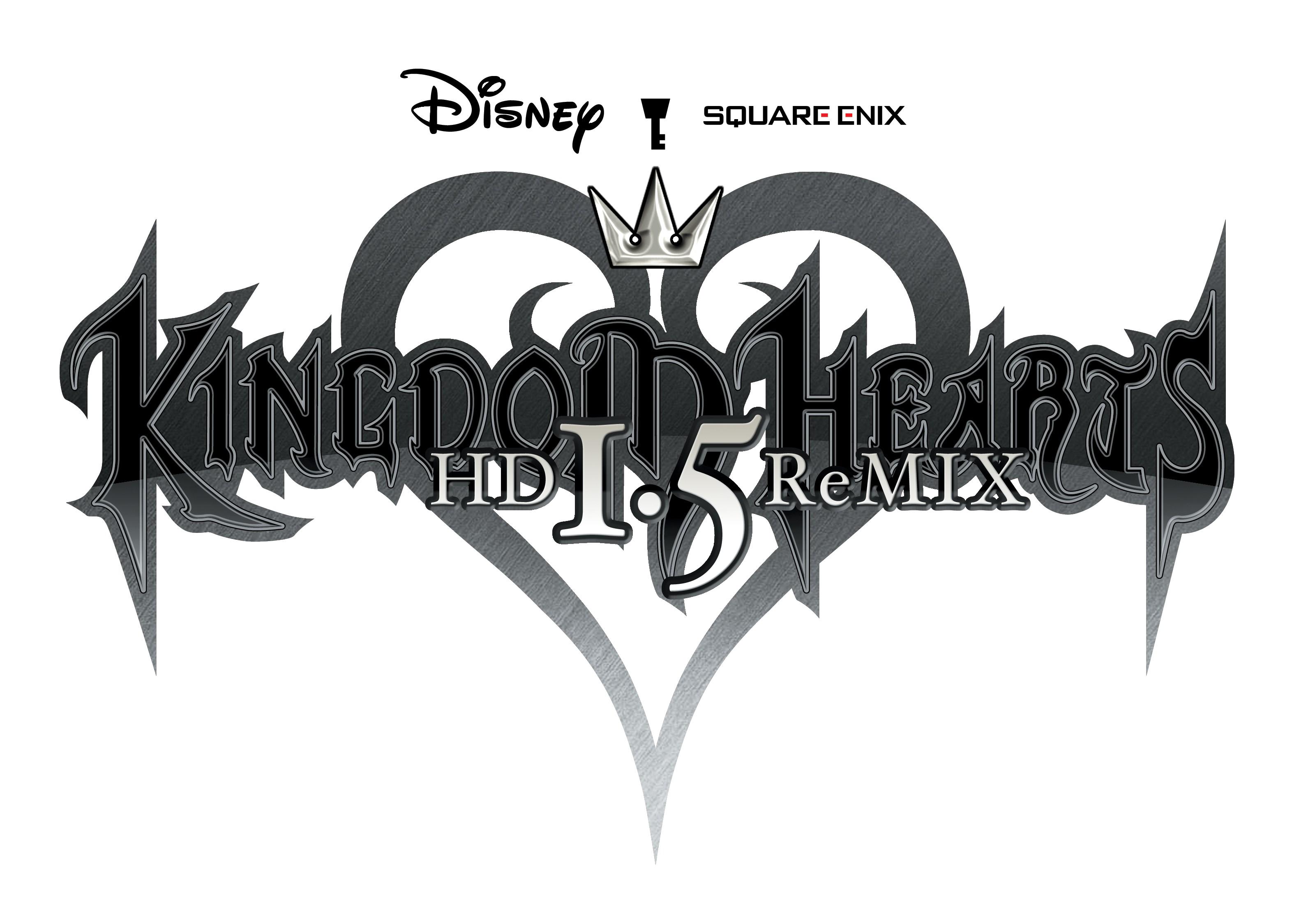 Image hd remix disney. Kingdom hearts logo png