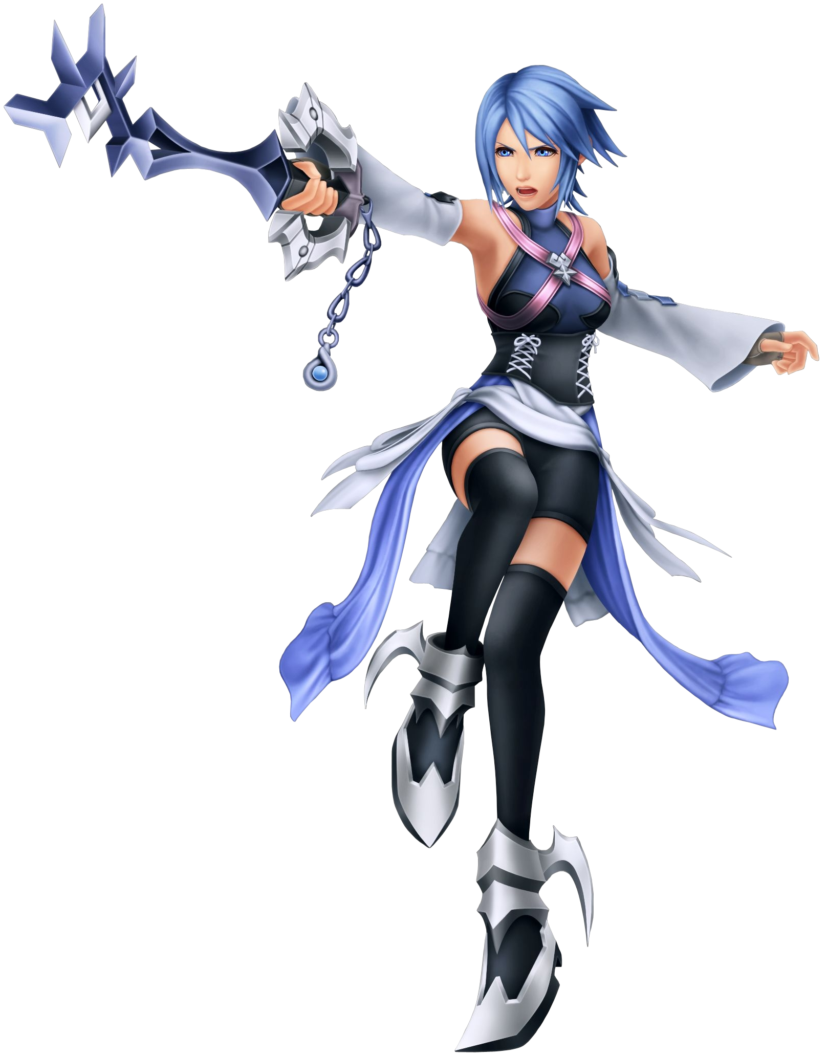 Kingdom hearts png. Image aqua kh superpower