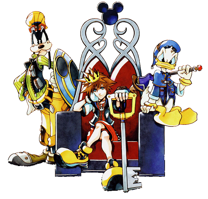 By aeroryuu on deviantart. Kingdom hearts png