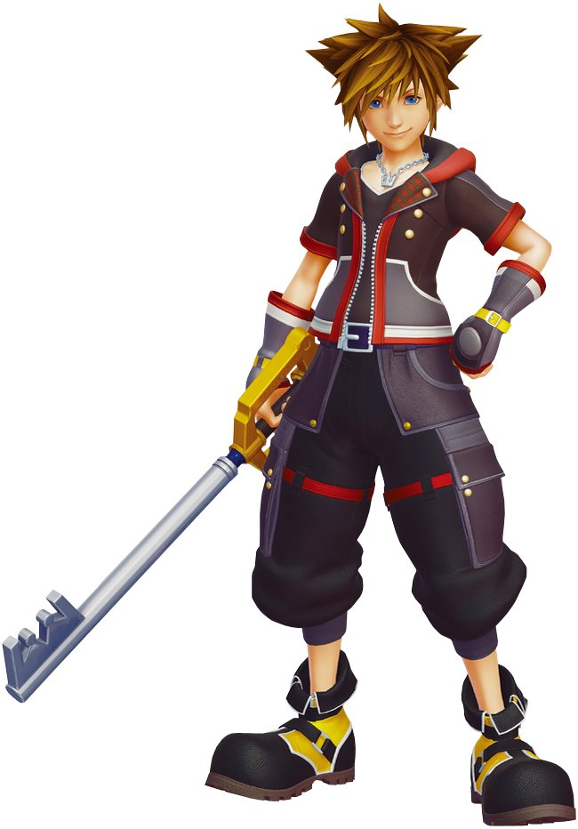 kingdom hearts sora png