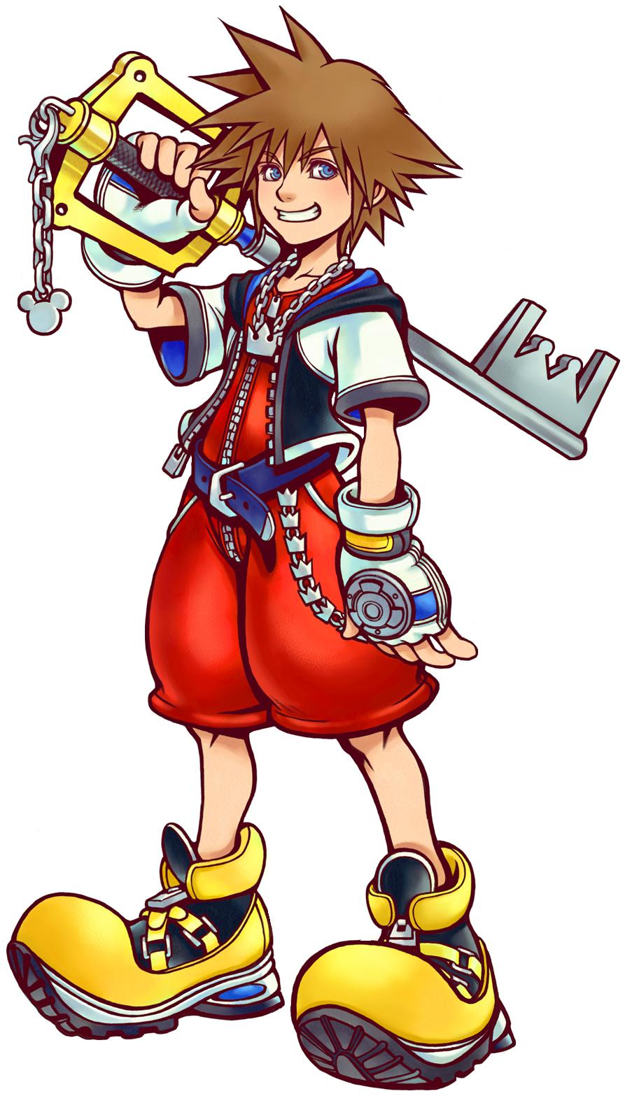 Image art kh wiki. Kingdom hearts sora png