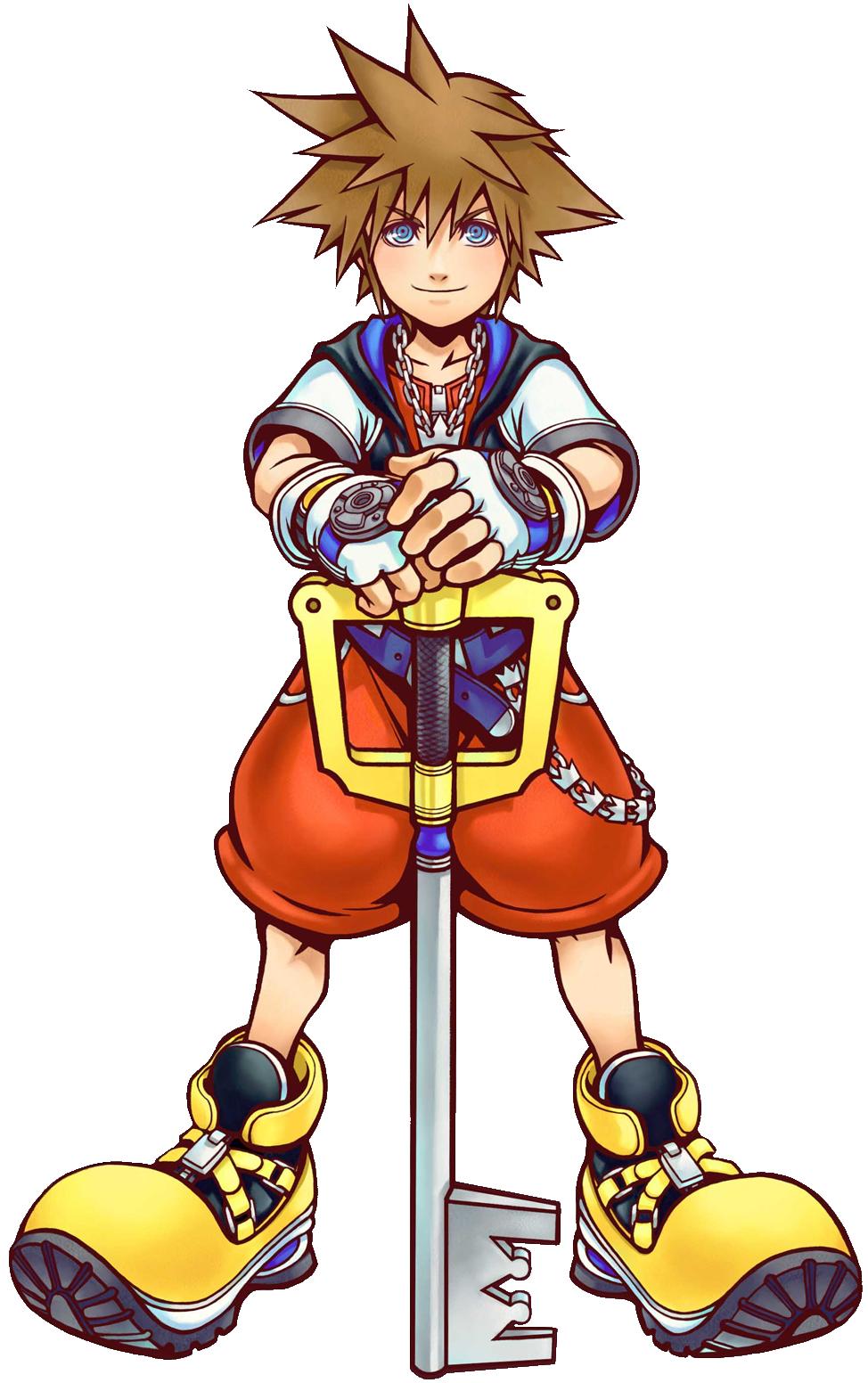 Kingdom hearts sora png. Image art kh wiki