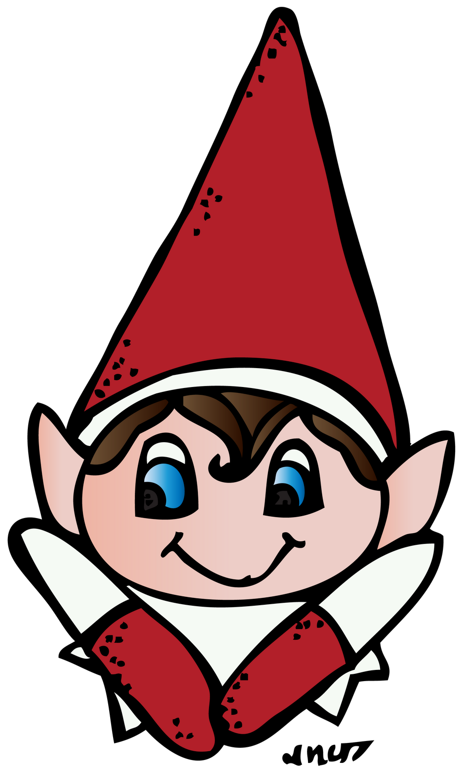Kiss clipart elf. Kissing images collection classroom
