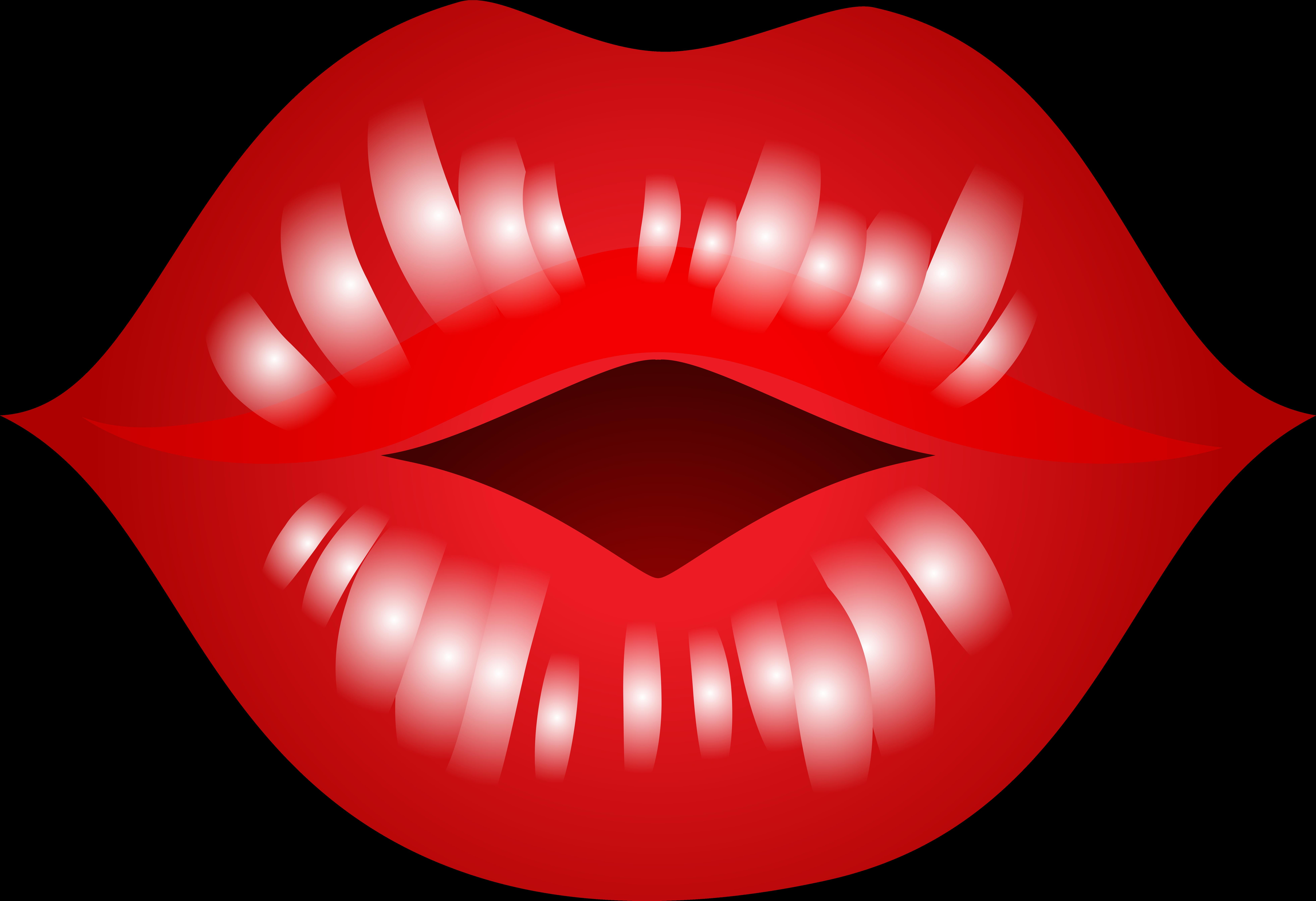 Kiss clipart full lip. Kissing lips size pinclipart