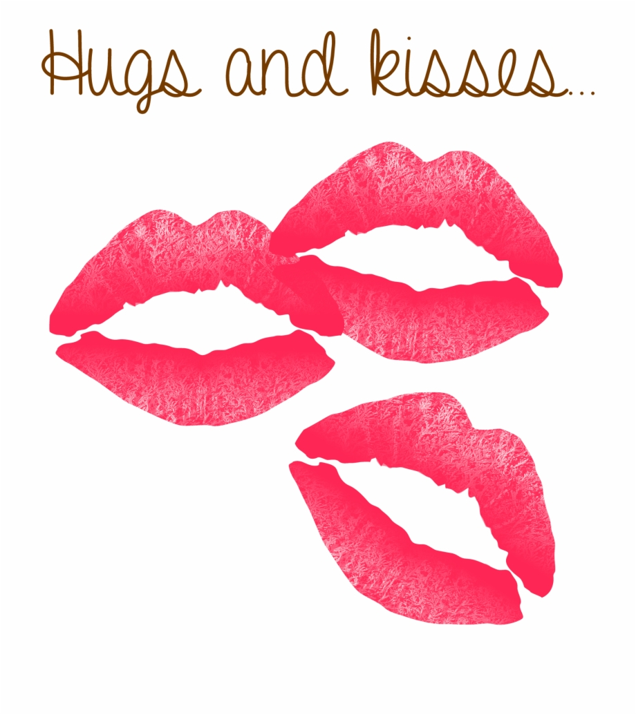 Kiss clipart glossy lip. Hugs and kisses for