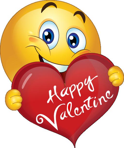 Darling valentine smiley emoticon. Kiss clipart good night kiss