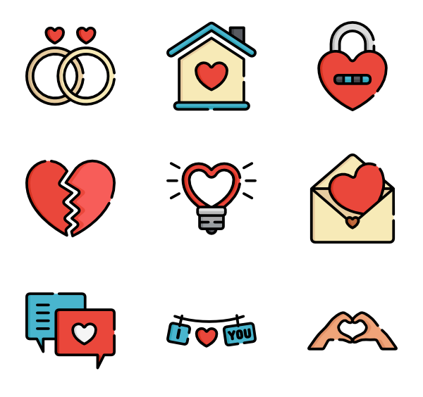 packs vector svg. Kiss clipart icon