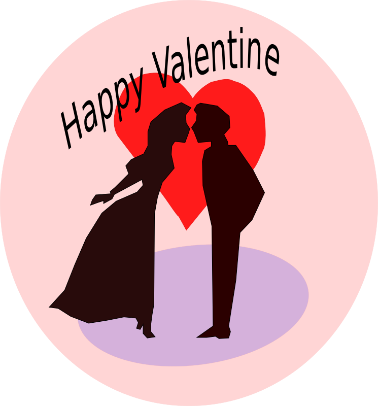 Happy valentine medium image. Kiss clipart kiss day