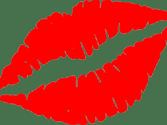 Kissing lips at getdrawings. Kiss clipart kiss on cheek