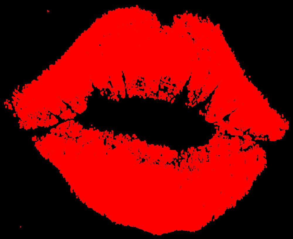 Blog blossom red lipstick. Kiss clipart lip stick