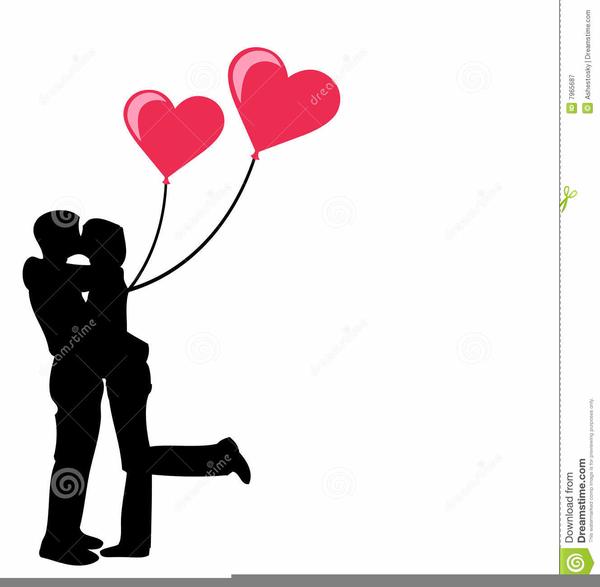 And woman kissing free. Kiss clipart man