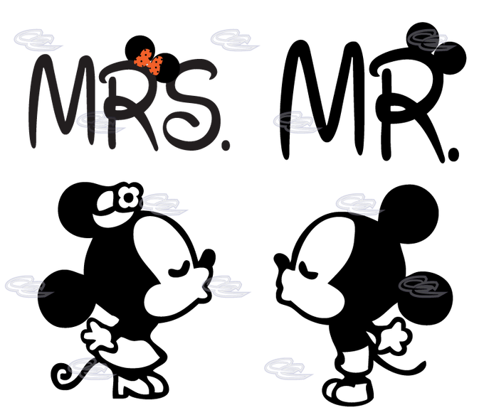 Pictures of and mouse. Kiss clipart mickey minnie