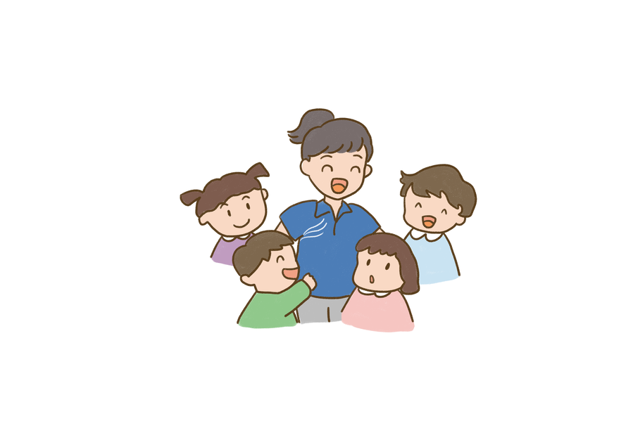 Kiss clipart mom two kid. Free download clip art
