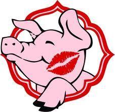 Kiss clipart pig.  best a images