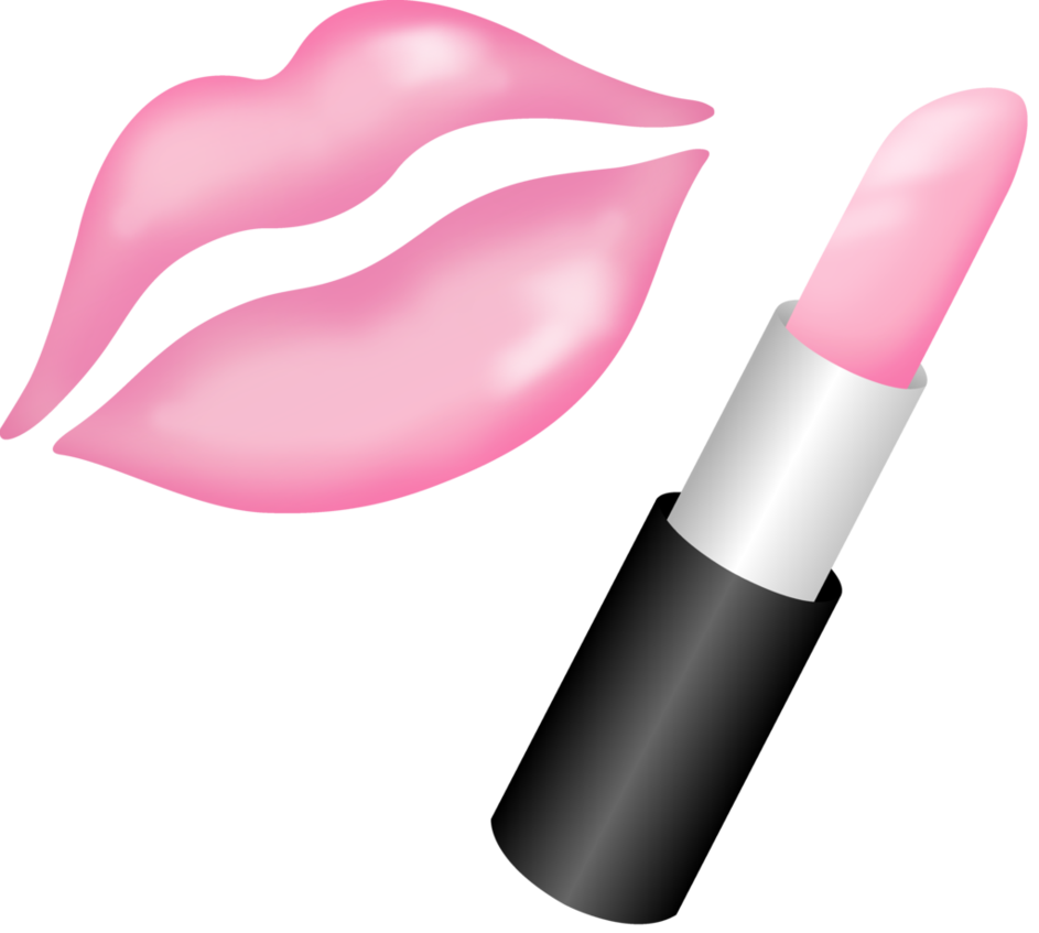 Lipstick clipart transparent background. Kiss pink png free