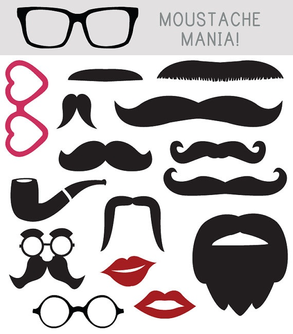 Kiss clipart props. Download digital for photo