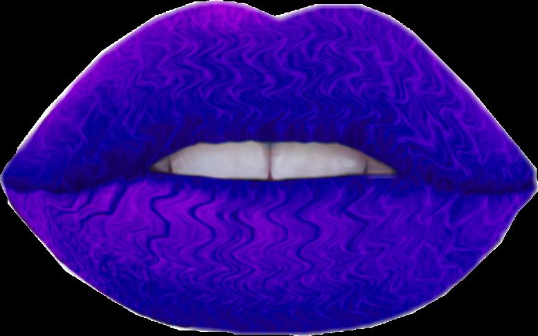 Purple clipart lips. Love kiss alyssa sticker