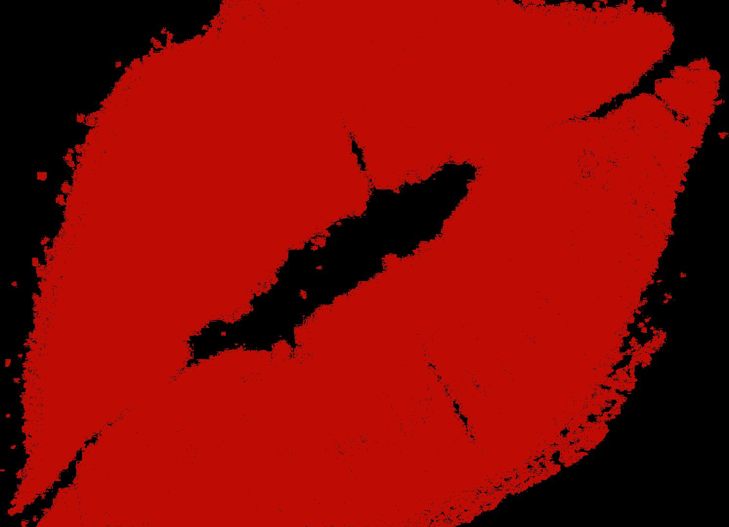 Red kiss lips transparent. Lip clipart tumblr lip