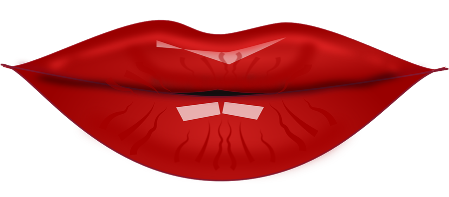 collection of red. Mouth clipart tasting