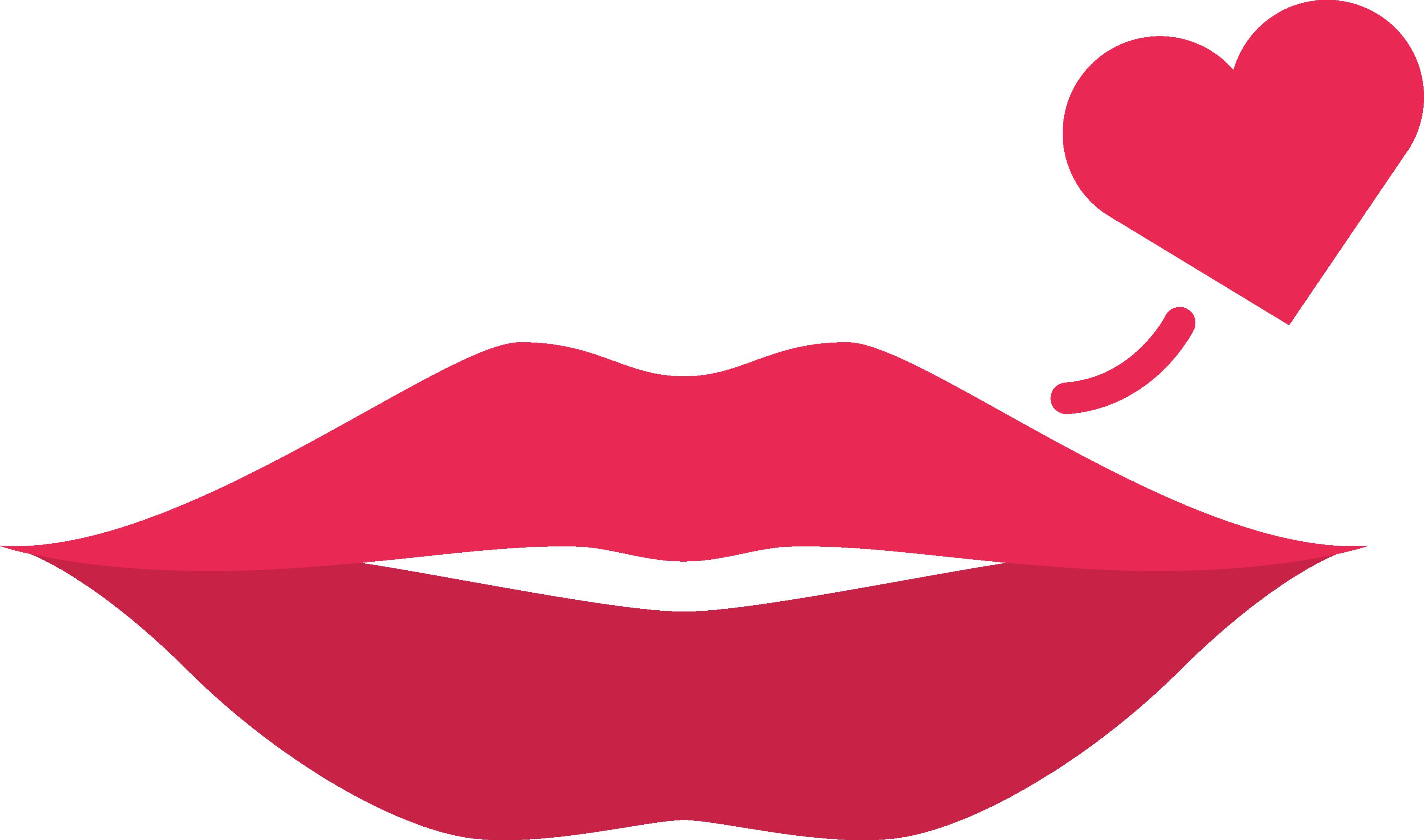 Lip clipart simple lip. Kiss x free clip